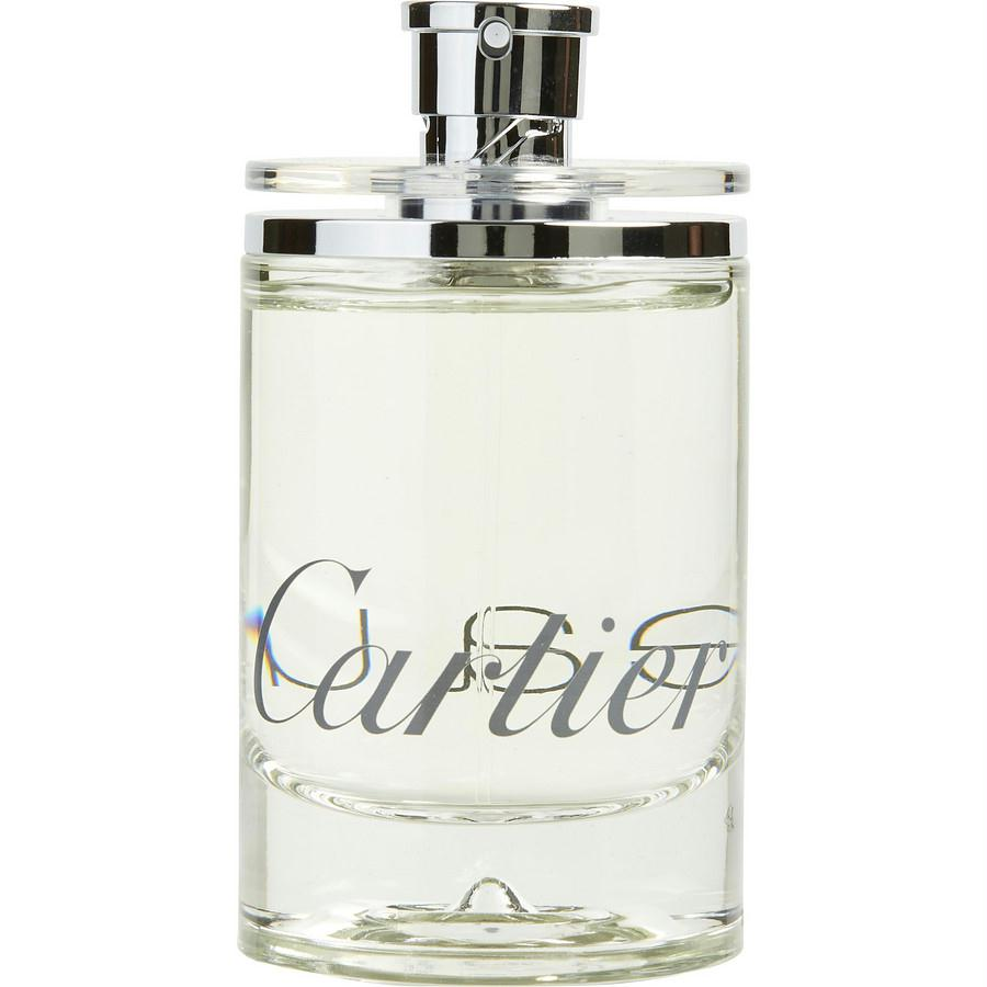 Eau De Cartier By Cartier Edt Spray 3.3 Oz *tester