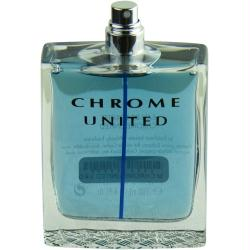 Chrome United By Azzaro Edt Spray 3.4 Oz *tester