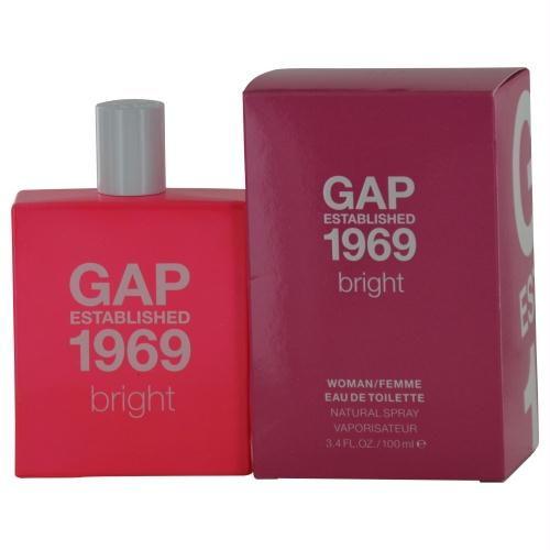 Gap Established 1969 Bright By Gap Edt Spray 3.4 Oz