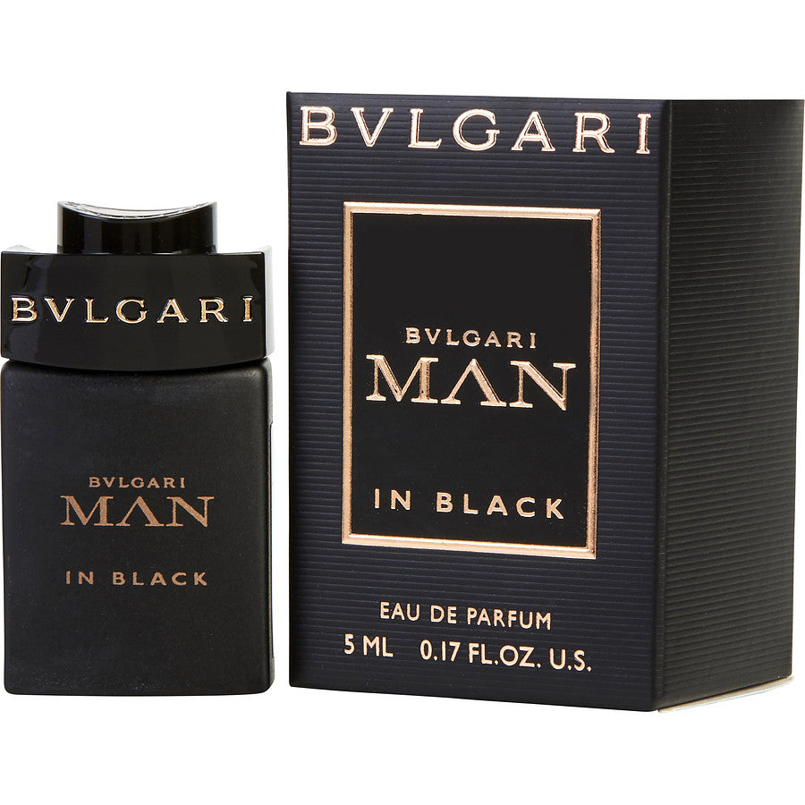 Bvlgari Man In Black By Bvlgari Eau De Parfum .17 Oz Mini