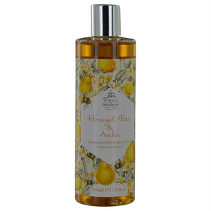 Woods Of Windsor Honeyed Pear & Amber By Woods Of Windsor Moisturizing Bath & Shower Gel 11.8 Oz