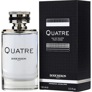 Boucheron Quatre By Boucheron Edt Spray 3.3 Oz