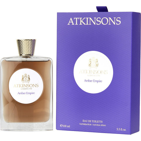 Atkinsons Amber Empire By Atkinsons Edt Spray 3.3 Oz