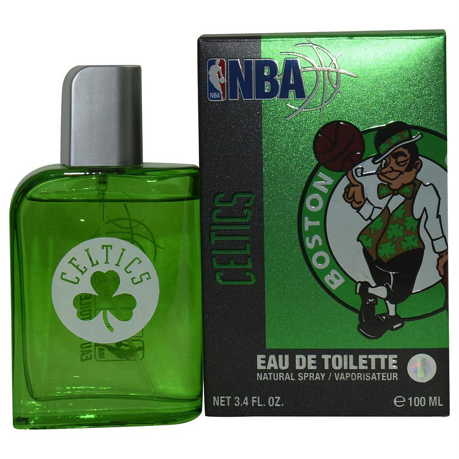 Nba Celtics By Air Val International Green Edt Spray 3.4 Oz