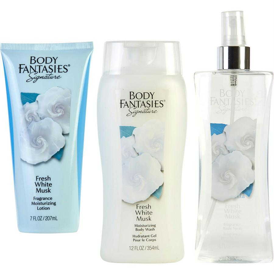 Body Fantasies Gift Set Body Fantasies Fresh White Musk By Body Fantasies