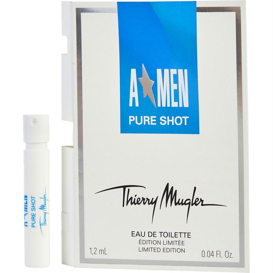 Angel Men Pure Shot By Thierry Mugler Edt Spray Vial (limited Edition)