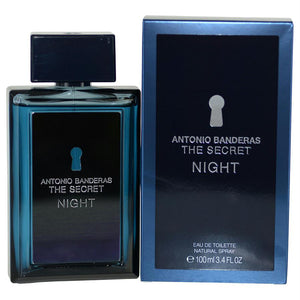 The Secret Night By Antonio Banderas Edt Spray 3.4 Oz