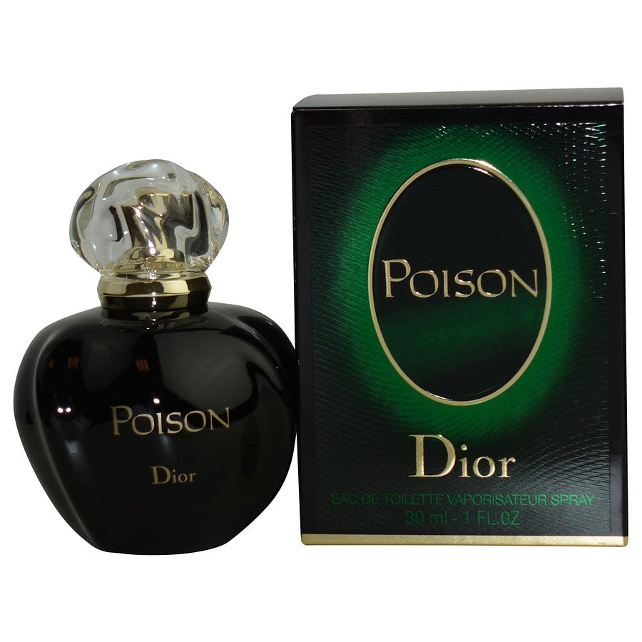 Poison By Christian Dior Edt Spray 1 Oz (new Packaging)