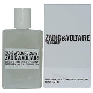 Zadig & Voltaire This Is Her! By Zadig & Voltaire Eau De Parfum Spray 1.6 Oz