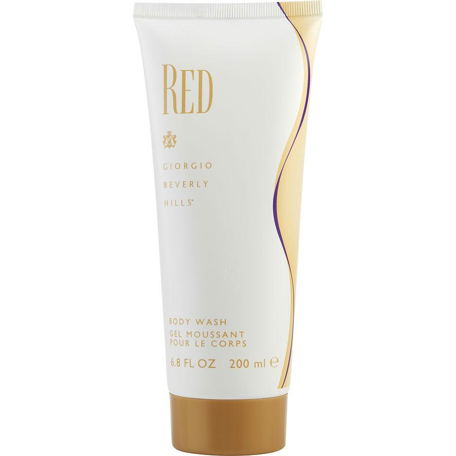 Red By Giorgio Beverly Hills Body Wash 6.8 Oz