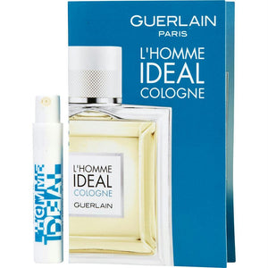 Guerlain L'homme Ideal Cologne By Guerlain Edt Spray Vial On Card