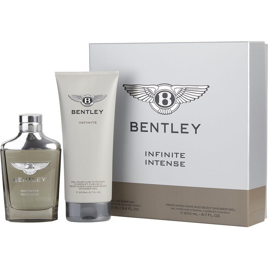 Bentley Infinite Intense By Bentley Eau De Parfum Spray 3.4 Oz & Hair & Shower Gel 6.7 Oz