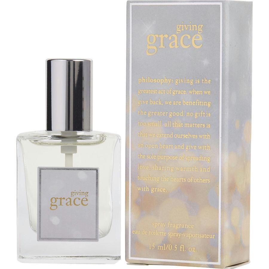 Philosophy Giving Grace By Philosophy Edt Spray .5 Oz