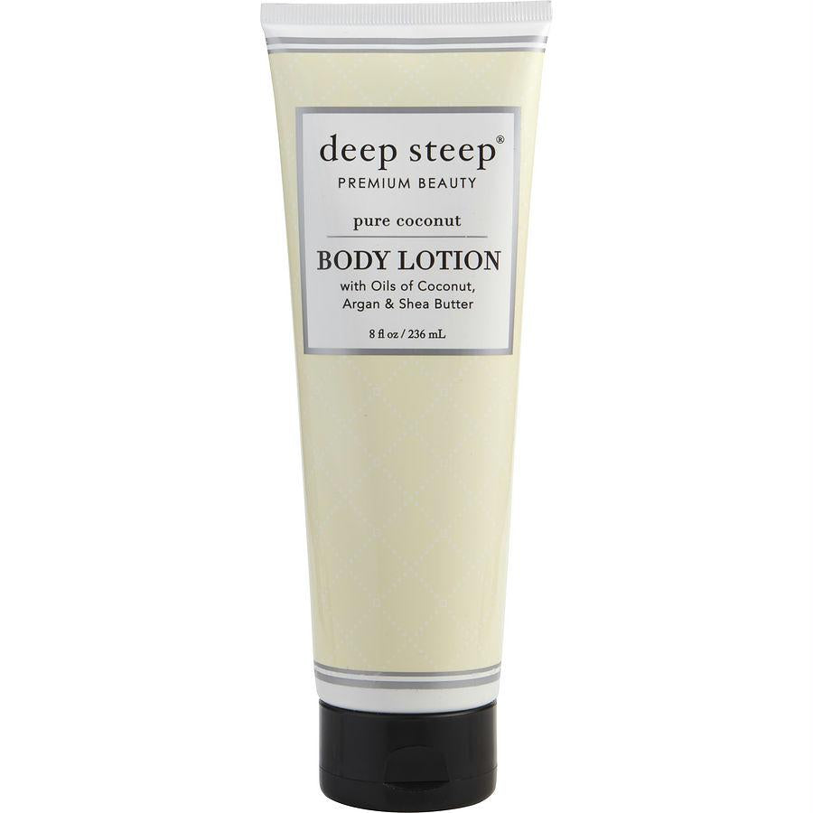 Deep Steep Pure Coconut Body Lotion 8 Oz By Deep Steep