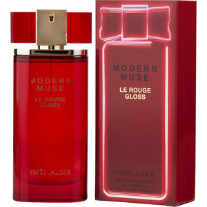 Modern Muse Le Rouge Gloss By Estee Lauder Eau De Parfum Spray 3.4 Oz