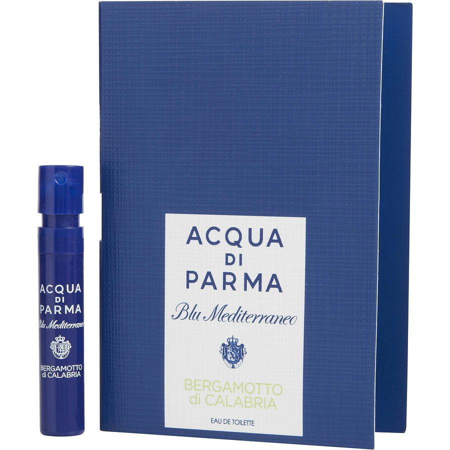 Acqua Di Parma Blue Mediterraneo By Acqua Di Parma Bergamotto Di Calabria Edt Spray Vial On Card