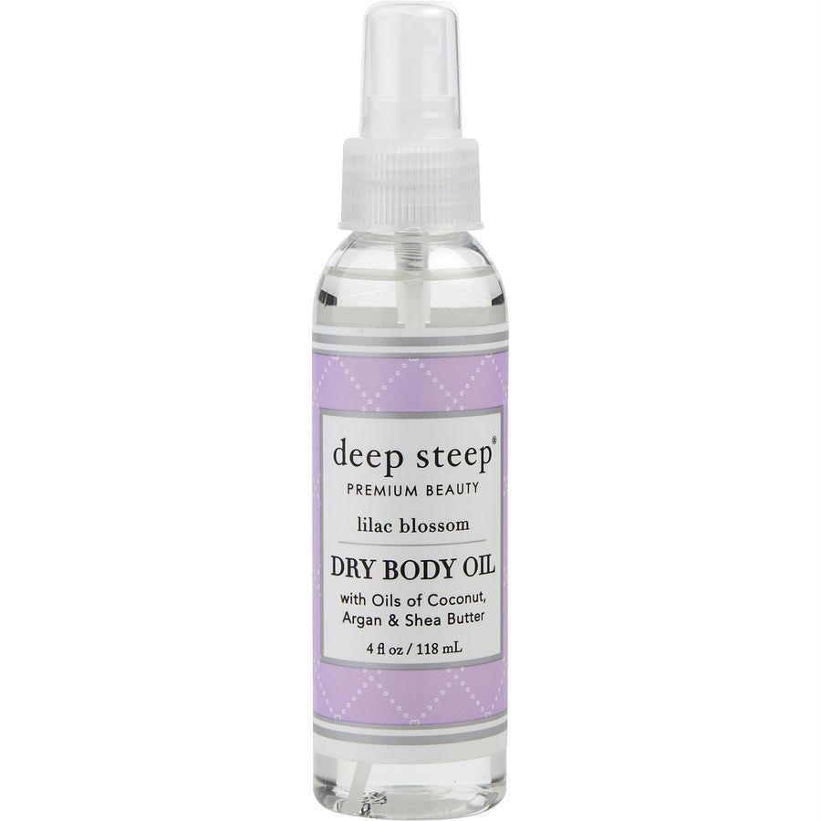 Deep Steep Lilac Blossom Dry Body Oil 4 Oz By Deep Steep