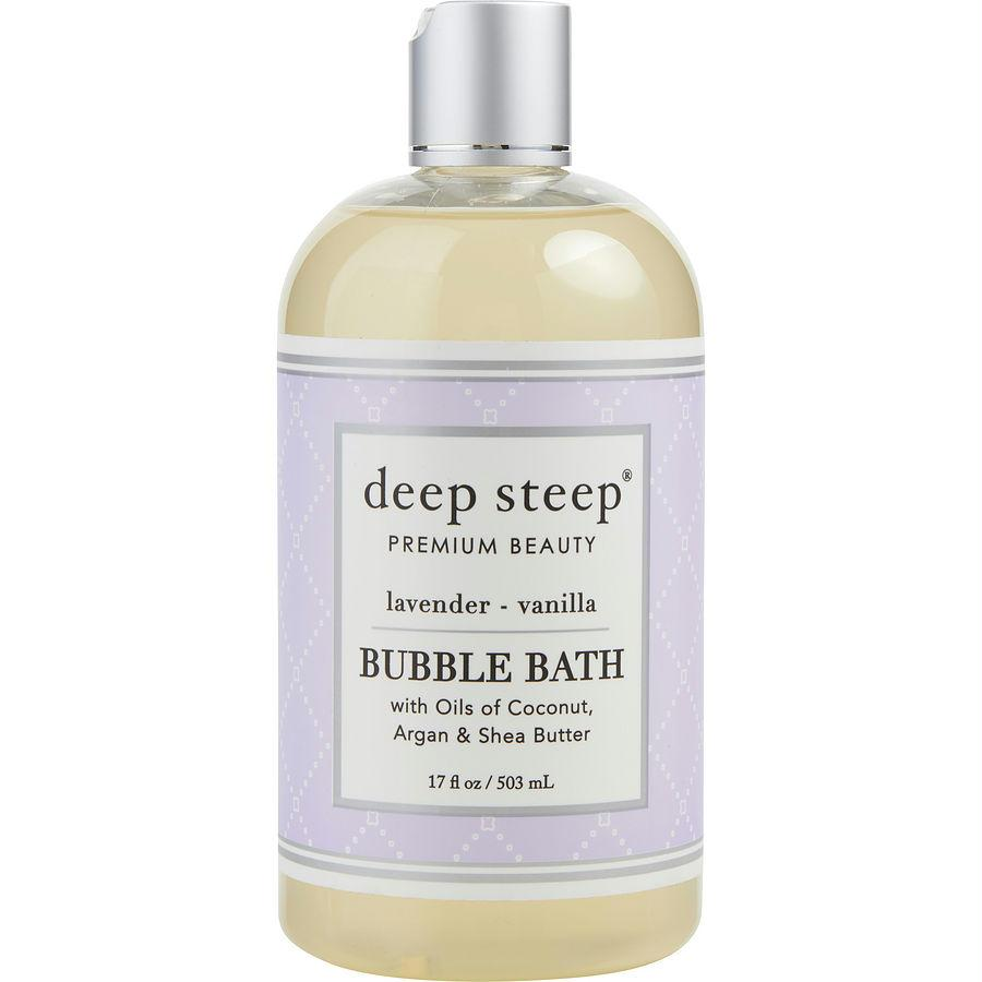 Deep Steep Lavender Vanilla Bubble Bath 17 Oz By Deep Steep