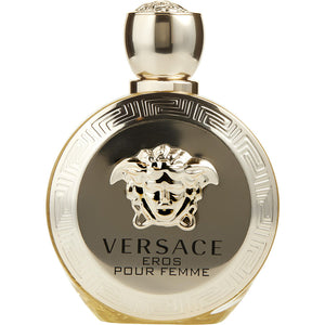 Versace Eros Pour Femme By Gianni Versace Eau De Parfum Spray 3.4 Oz (unboxed)