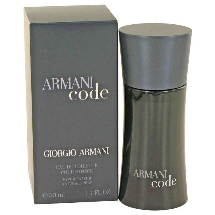 Armani Code by Giorgio Armani Eau De Toilette Spray 1.7 oz for Men