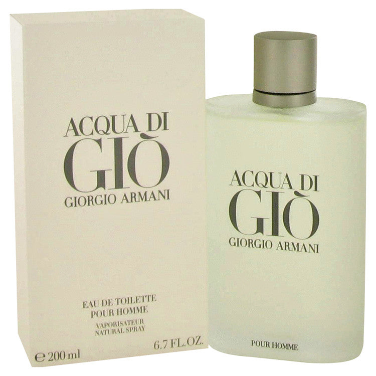 ACQUA DI GIO by Giorgio Armani Eau De Toilette Spray 6.7 oz for Men