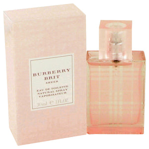 Burberry Brit Sheer by Burberry Eau De Toilette Spray 1 oz for Women