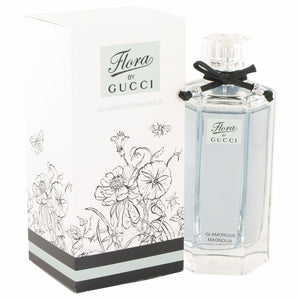 Flora Glamorous Magnolia by Gucci Eau De Toilette Spray 3.3 oz for Women
