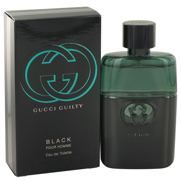 Gucci Guilty Black by Gucci Eau De Toilette Spray 1.6 oz for Men