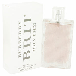 Burberry Brit Rhythm by Burberry Eau De Toilette Spray 3 oz for Women
