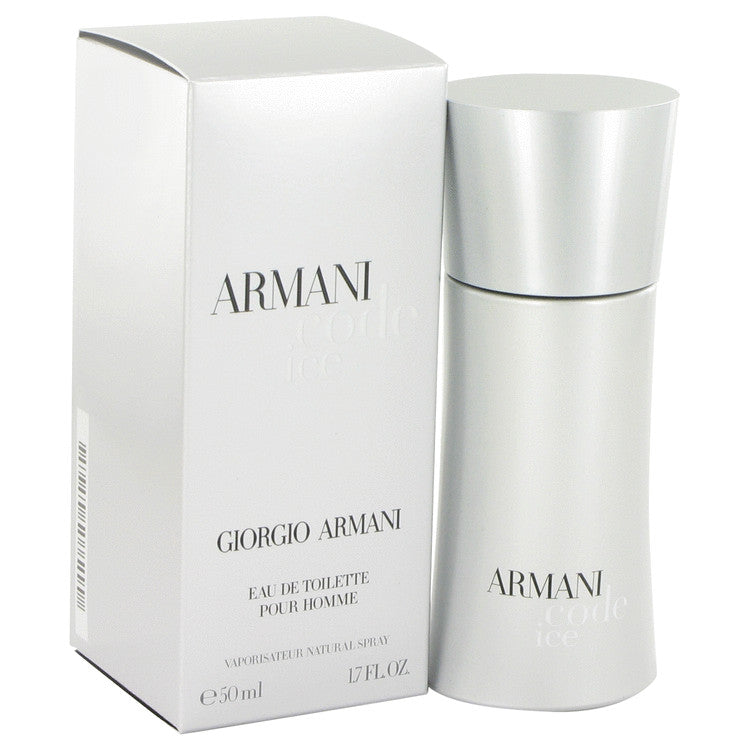 Armani Code Ice by Giorgio Armani Eau De Toilette Spray 1.7 oz for Men