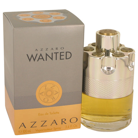 Azzaro Wanted by Azzaro Eau De Toilette Spray 3.4 oz for Men