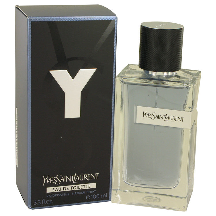 Y by Yves Saint Laurent Eau De Toilette Spray 3.3 oz for Men