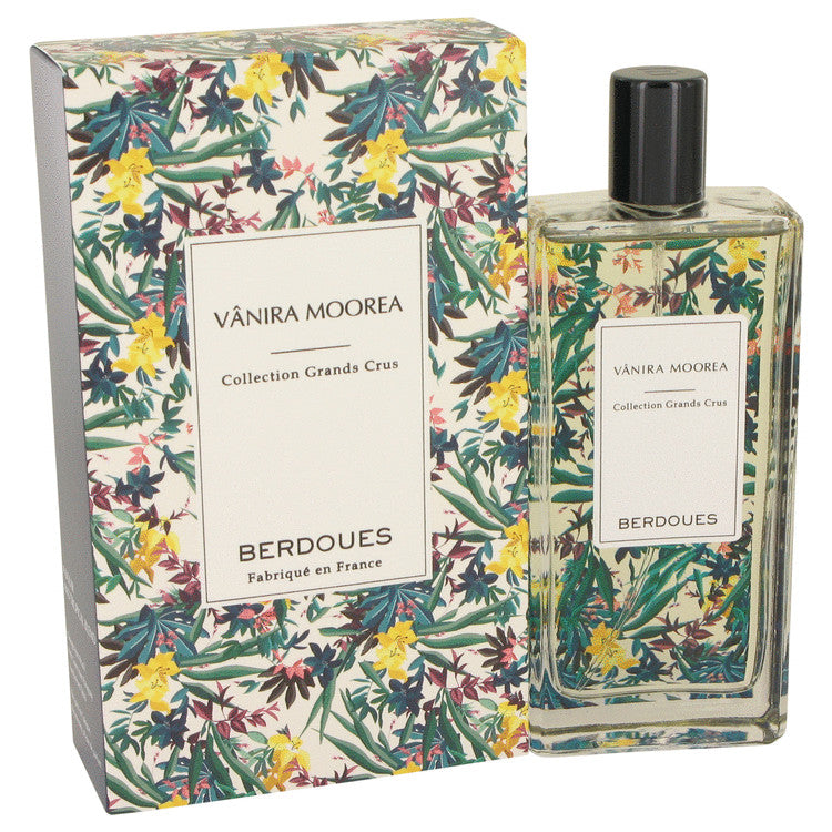 Vanira Moorea Grands Crus by Berdoues Eau De Parfum Spray (Unisex Tester) 3.4 oz for Women