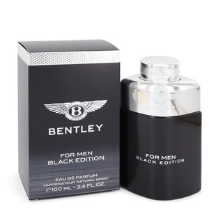 Bentley Black Edition by Bentley Eau De Parfum Spray 3.4 oz for Men