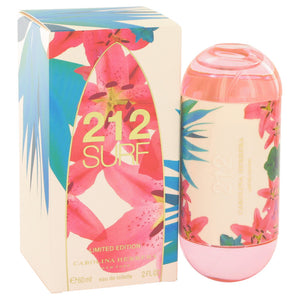 212 Surf by Carolina Herrera Eau De Toilette Spray (Limited Edition 2014 Tester) 2 oz for Women