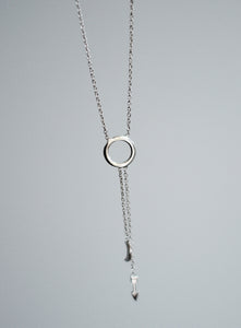 Shoot The Moon Necklace (silver)
