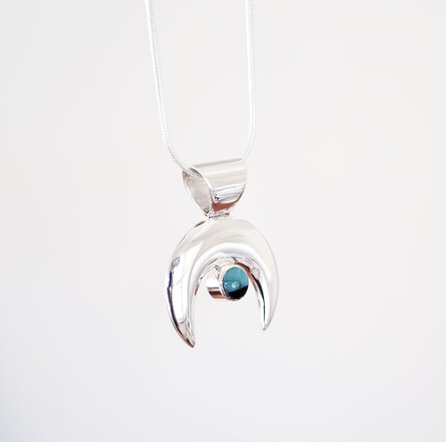 The Turquoise Moon Necklace
