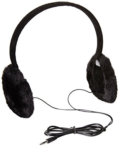 Gabriella Women's Faux-Fur Earmuffs with Built-In Headphones