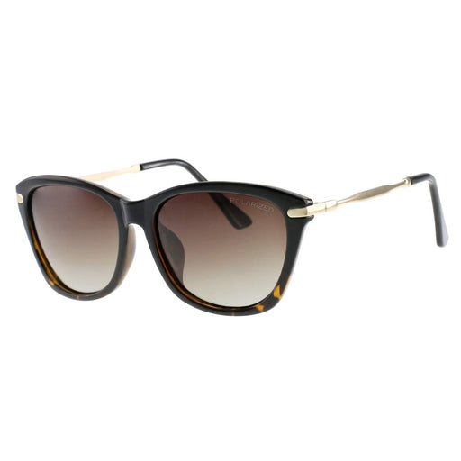 Retro Vintage Cateye Sunglasses for Women Plastic Framefor Fashion Women, HD Polarized Lenses