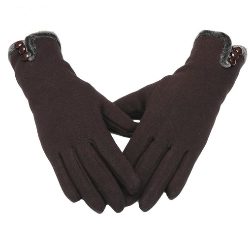 772d666f9 Fani Womens Gloves Winter Thick Warm Lined Windproof Touch Screen Gloves