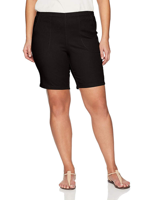 e7e2dbf378212 Just My Size Women's Apparel Women's Plus Size 2 Pocket Pull on Short