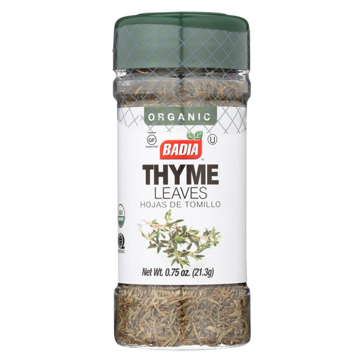 Badia Spices - Thyme Leaves - Case Of 12-.75 Oz