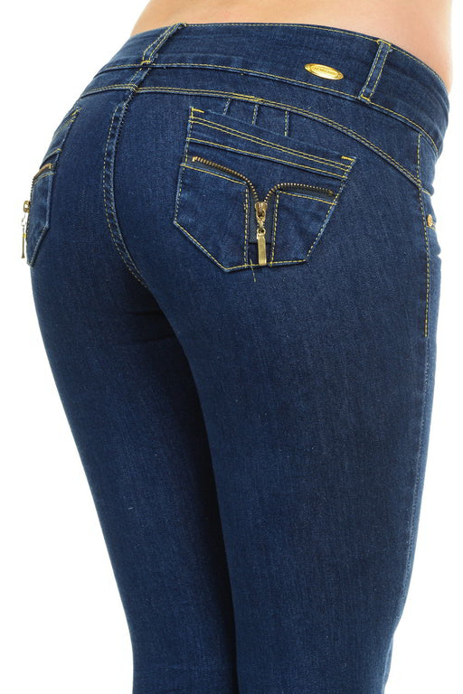 M.Michel Jeans, Levanta Cola, Push-Up - M947
