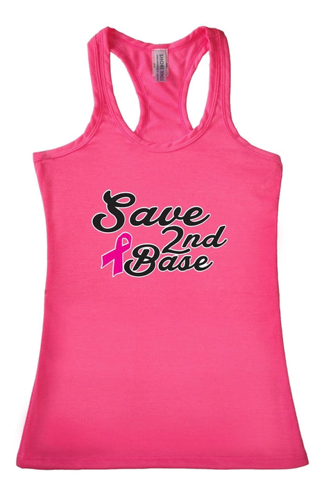 Women's Tank Top Breast Cancer Awareness Save 2nd
