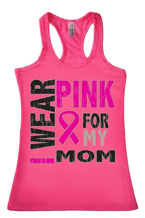 Women's Tank Top Breast Cancer Awareness I Wear