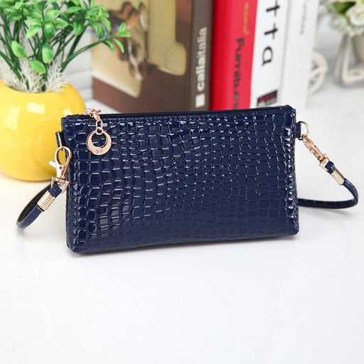 bags for women Crocodile Leather Messenger