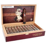 Deadwood Tobacco Leather Rose