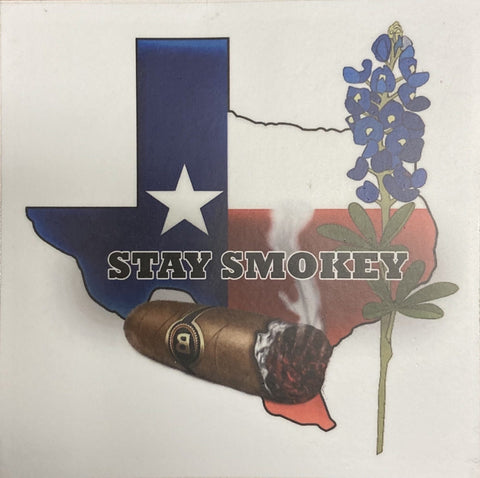 Texas Stay Smokey sticker