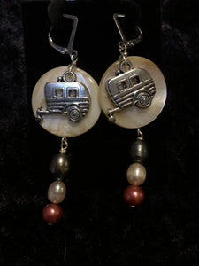 Camper with Pearls II Earrings
