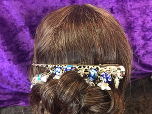Starry Night Dangly Jumbo Steel Hair Clip